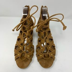Areosoles A2 middle name ghillie sandal size 9